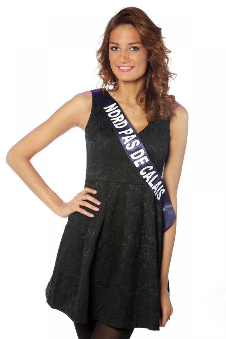 Miss Nord Pas de Calais Gaëlle Mans