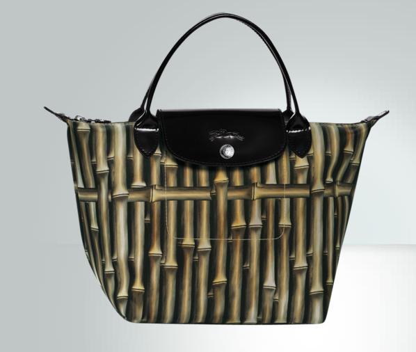 Sac pliage Bambou Longchamp