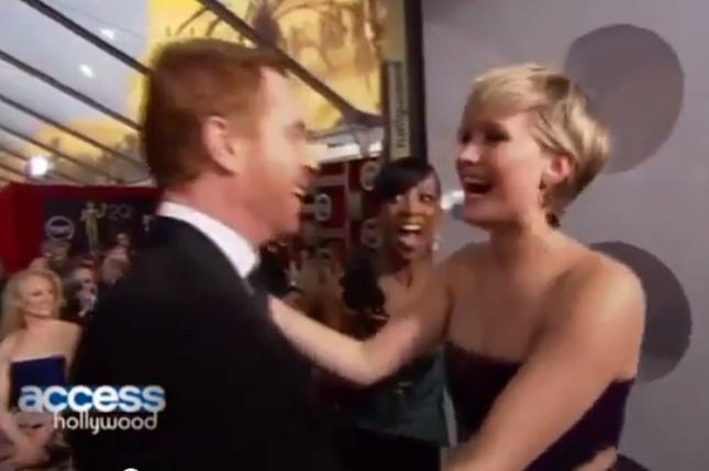 Jennifer Lawrence rencontre Damian Lewis alias Nicholas Brody