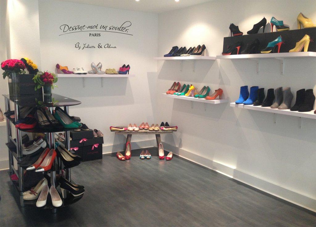 showroom dessine moi un soulier
