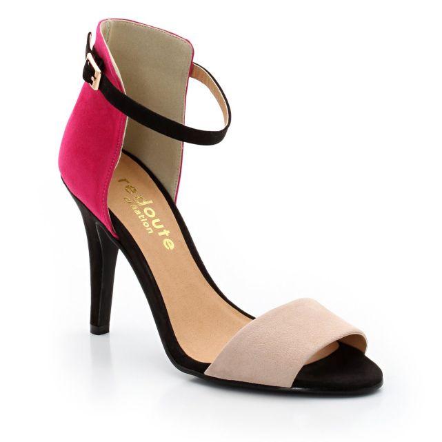 sandales multicolores la redoute mode et femme. Black Bedroom Furniture Sets. Home Design Ideas