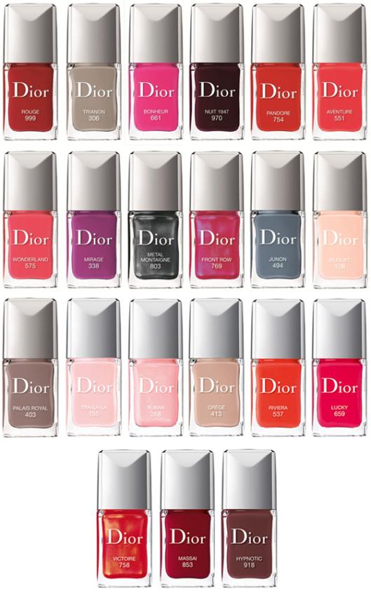 Vernis Dior été 2014