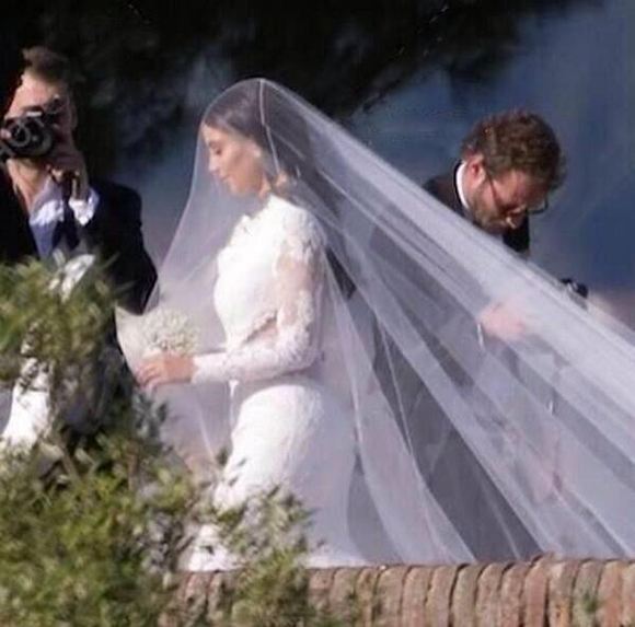 Robe de mariée de Kim Kardashian