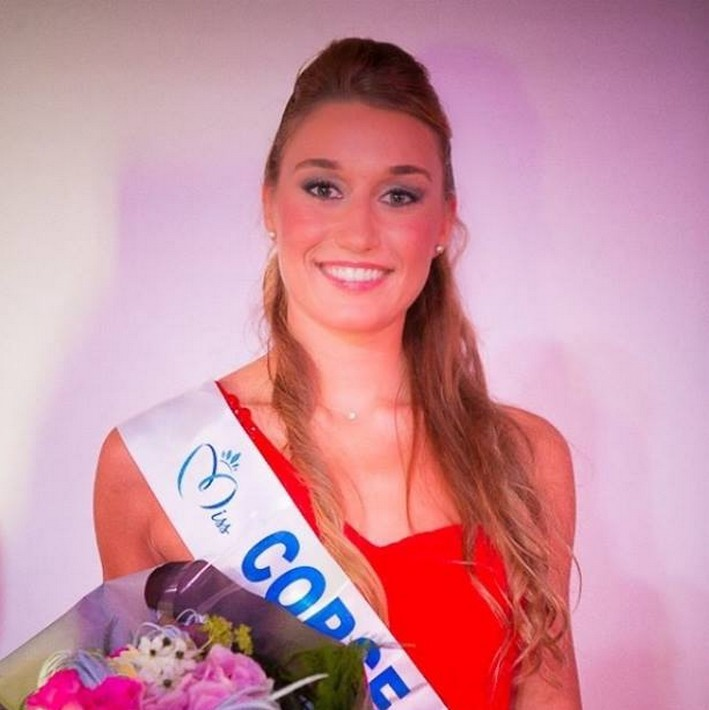 Miss Corse 2014  Dorine Rossi