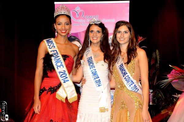 Miss Franche-Comté Anne-Mathilde Cali