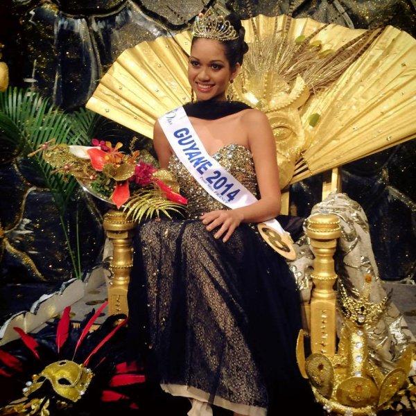 Miss Guyane 2014, Valeria Coehlo Maciel
