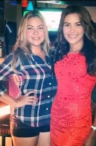 Miss Honduras et sa soeur