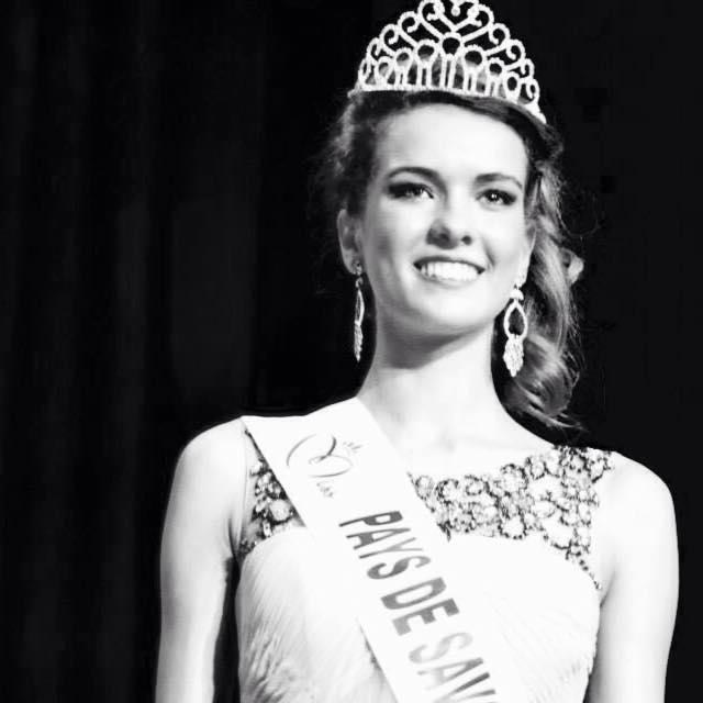 Miss Pays de Savoie 2014, Aurore Péron