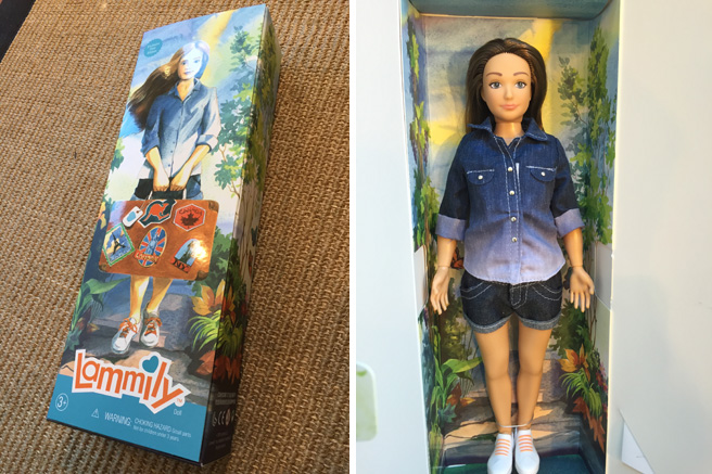 Lammily, la poupée anti-Barbie