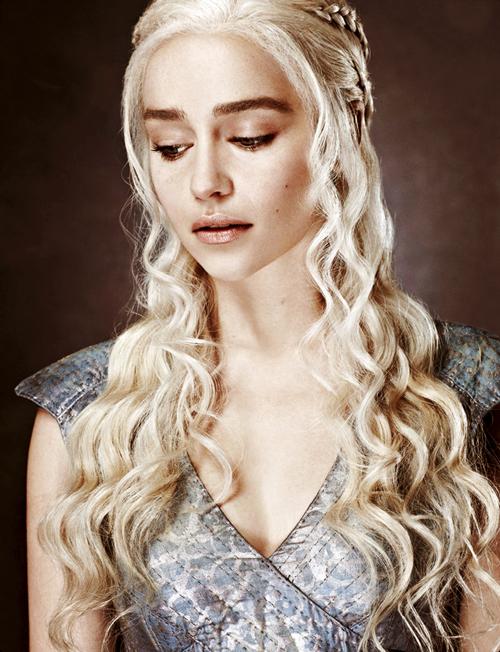 Couleur de cheveux d'Emilia Clarke – Daenerys Targaryen
