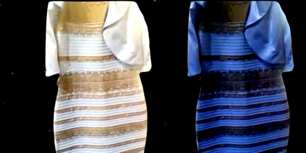 robe blanche et doree