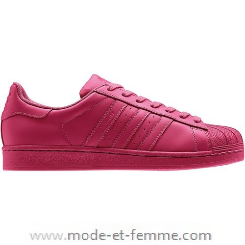 L'Adidas Superstar en couleur