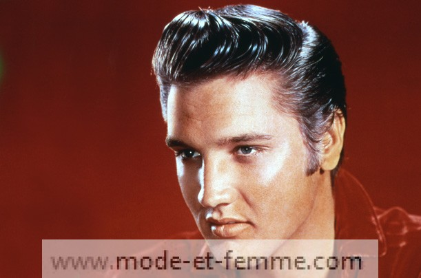 elvis slick hair