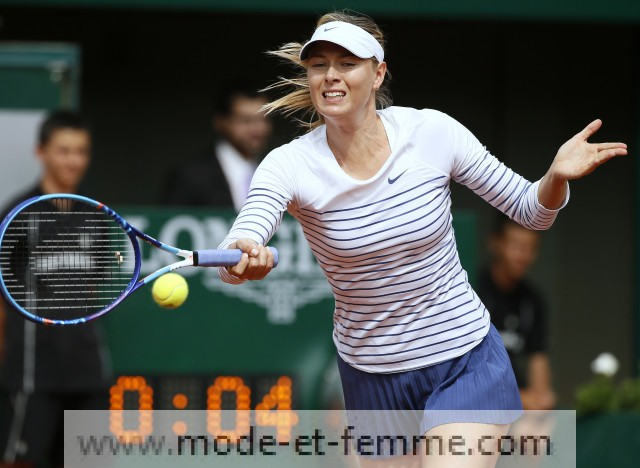 Le look de Maria Sharapova