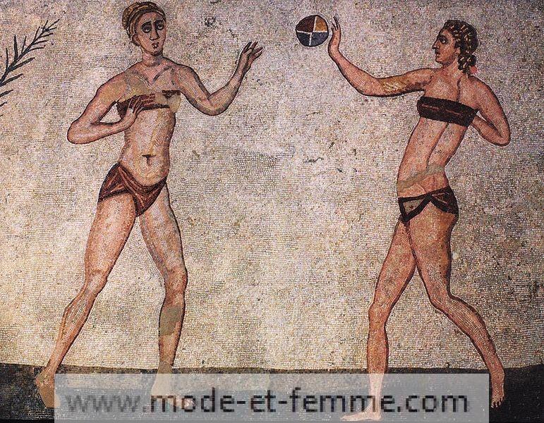 maillot de bain antiquité