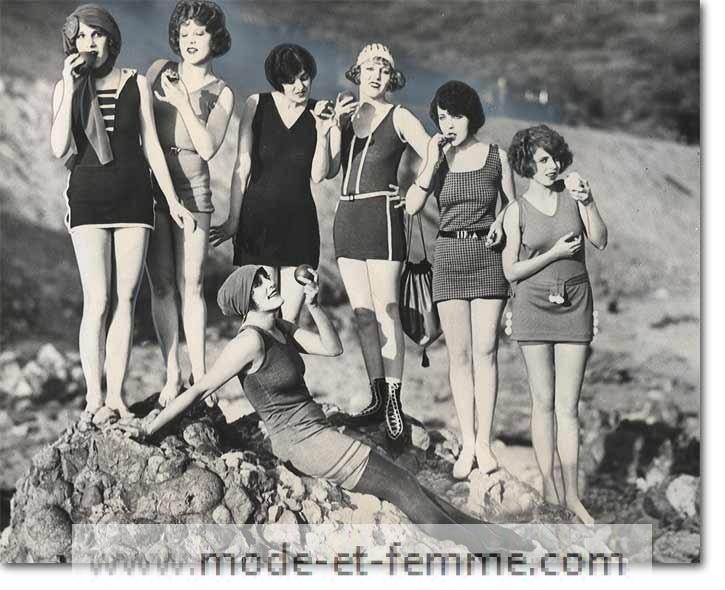 maillots 1920