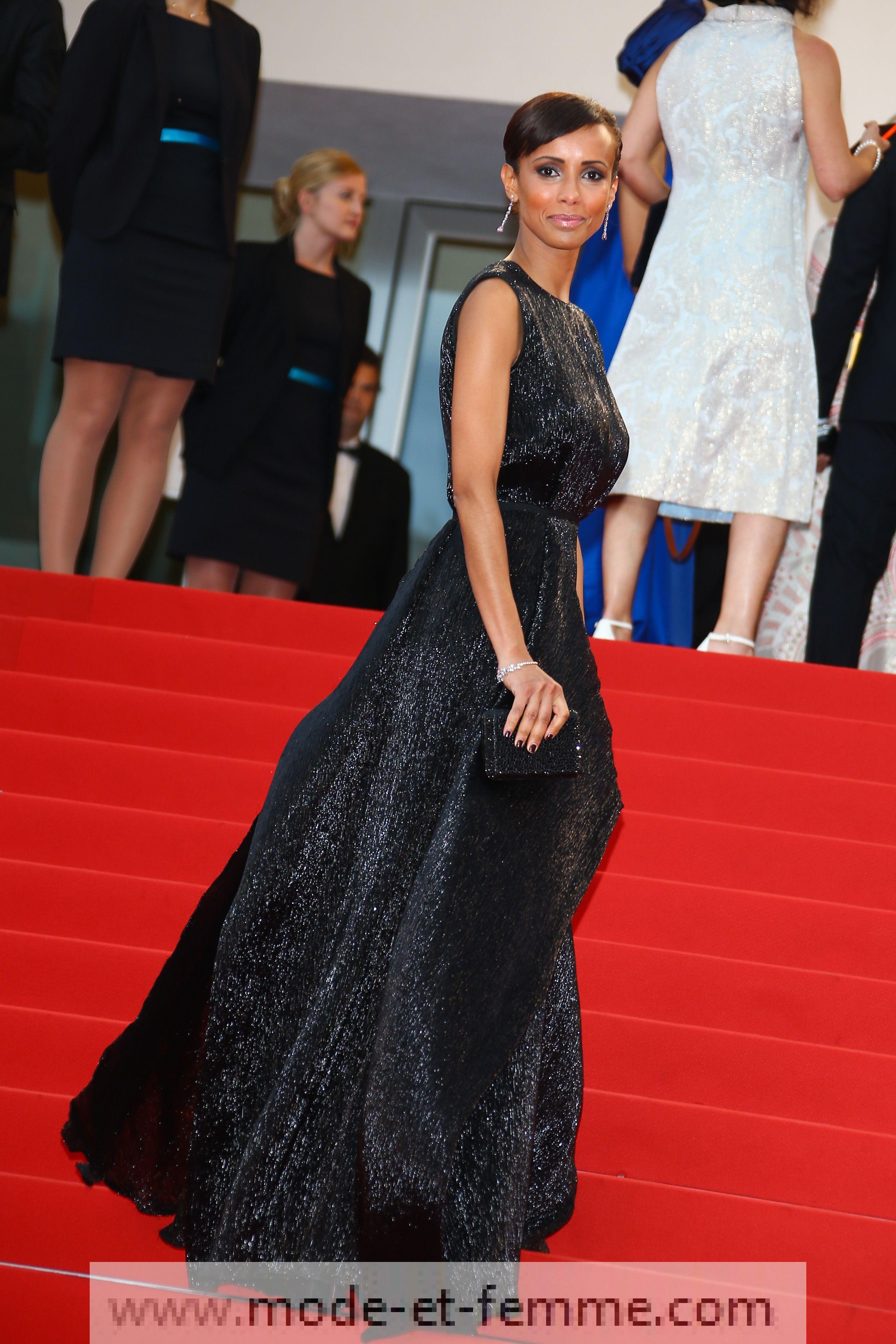 Robe de Sonia Roland à Cannes