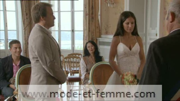 robe de mariée samia plus belle la vie