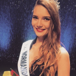 Miss Normandie : Esther Houdement, candidate Miss France