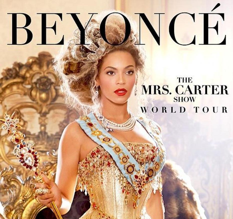 Affiche beyonce world tour
