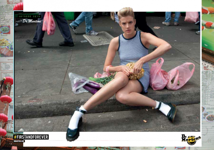 Collection Agyness Deyn pour Dr Martens Printemps 2013