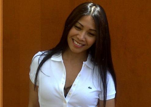 Anggun à Roland Garros