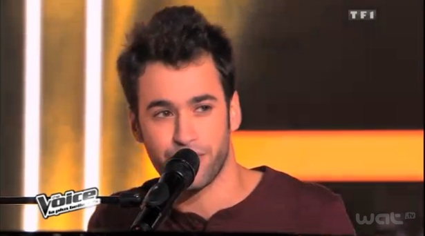 Anthony chante Billie Jean dans The Voice