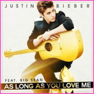 "Vidéo de Justin Bieber ""As long as you love me"""