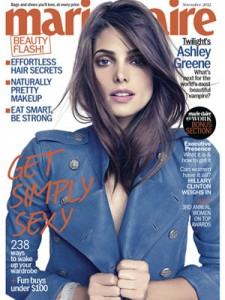 Ashley Greene pour Marie-Claire