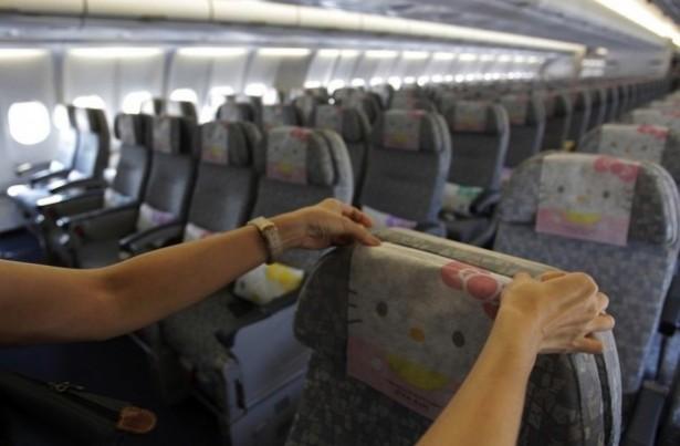 Les avions Hello Kitty