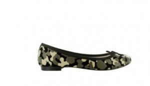 Ballerines Repetto Camouflage