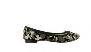 Ballerines Repetto Camouflage