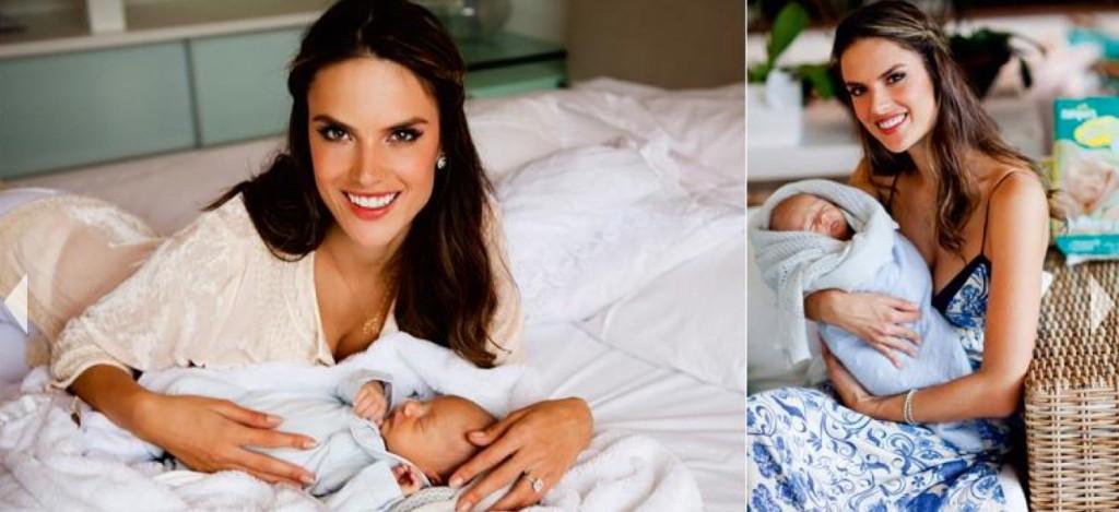 Le bébé d'Alessandra Ambrosio