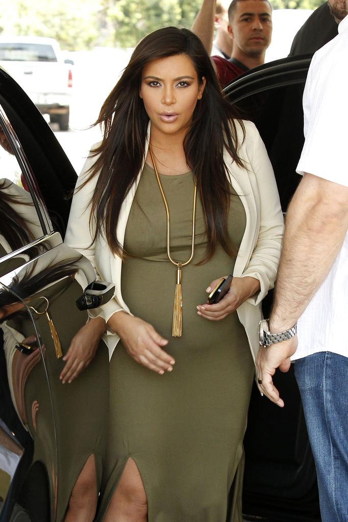 Kim Kardashian a accouché