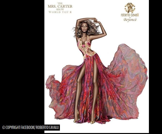 Beyoncé par Roberto Cavalli