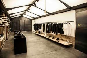 Boutique de luxe Adidas dans le Marais