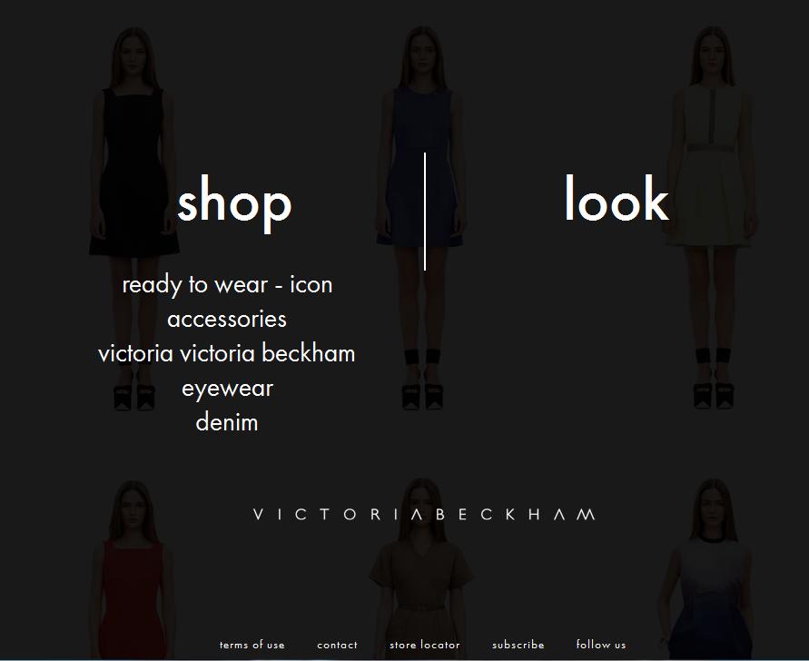 Boutique en ligne Victoria beckham