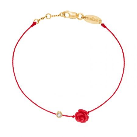 Bracelet rose et diamant Redline