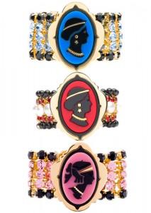 Bracelet camée de Miu Miu
