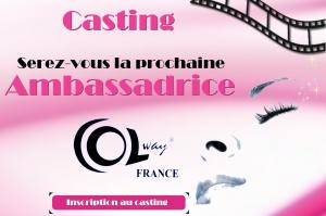 Casting pour devenir l' Ambassadrice Colway