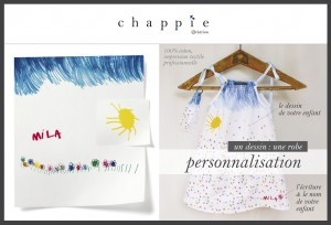Mode enfant personnalisée Chappie Création