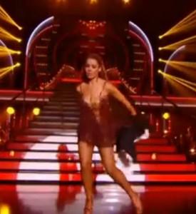 Chimène Badi en Tina Turner dans Danse avec les Stars