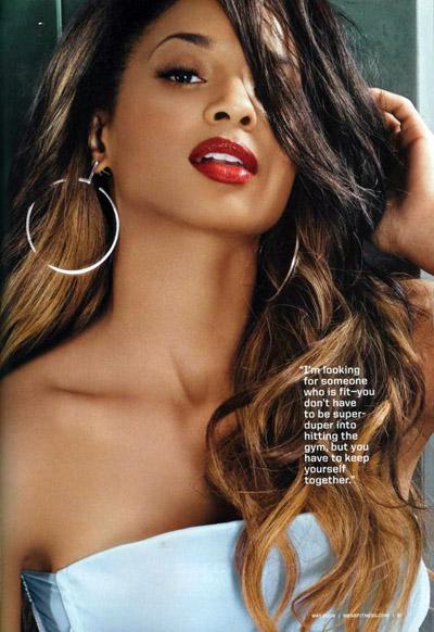 Ciara sans maquillage