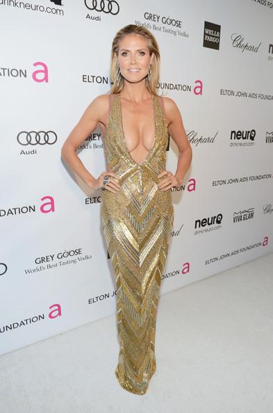 Decollete Heidi Klum oscars 2013