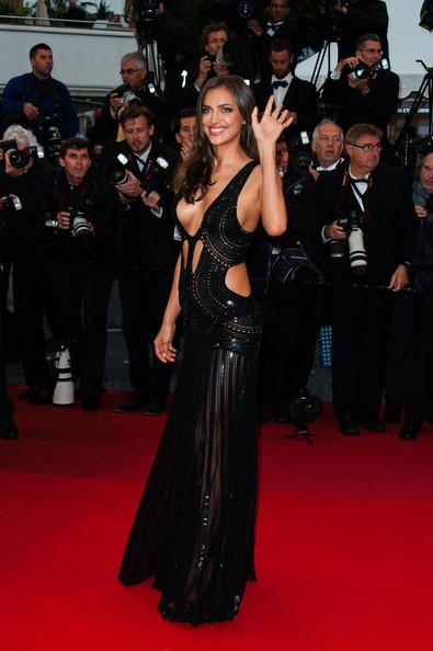 Décolleté d' Irina Shayk au Festival de Cannes 2013