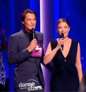 Décolleté de Sandrine Quétier Danse avec les Stars du 13 Octobre