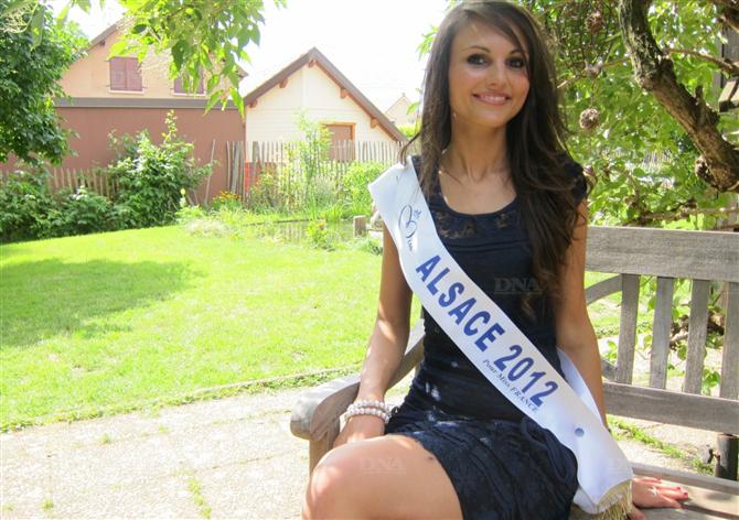 Miss Alsace 2012, concours Miss France 2013