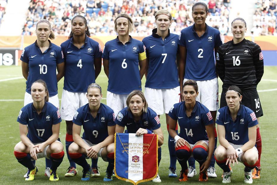 L'équipe de France de football féminin des JO 2012