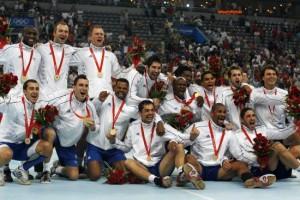 L' équipe de France de handball masculin aux JO 2012