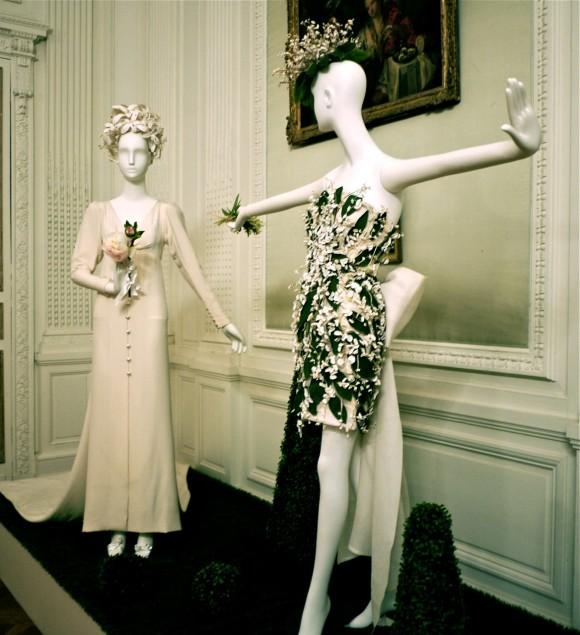 Exposition de robes de mariée de grands créateurs